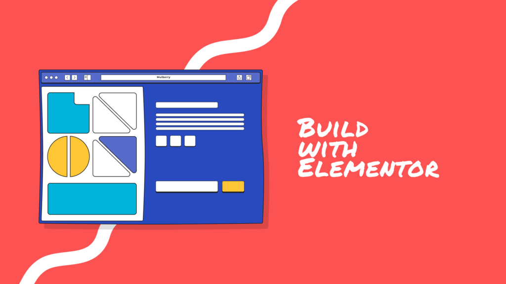 Cover-Build with elementor